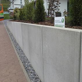 Pantina Gartenbau Mauerbau Beispiel 2