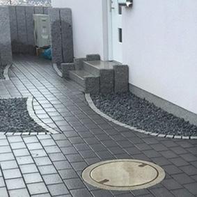 Pantina Gartenbau Hauseingang Beispiel 11
