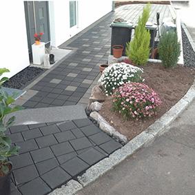 Pantina Gartenbau Hauseingang Beispiel 10