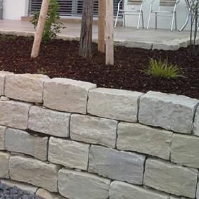 Pantina Gartenbau Mauerbau Beispiel 8