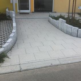 Pantina Gartenbau Hauseingang Pflaster Beispiel 9