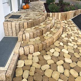 Pantina Gartenbau Hauseingang Beispiel 1