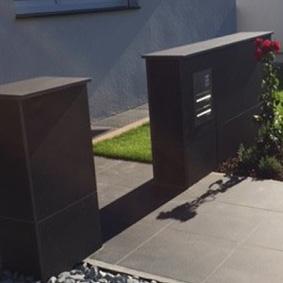 Pantina Gartenbau Hauseingang Beispiel 2
