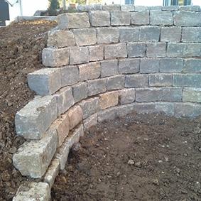 Pantina Gartenbau Mauerbau Beispiel 1