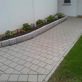 Pantina Gartenbau Hauseingang Beispiel 6
