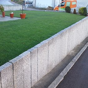 Pantina Gartenbau Mauerbau Beispiel 3