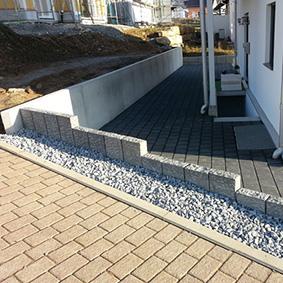 Pantina Gartenbau Mauerbau Beispiel 7
