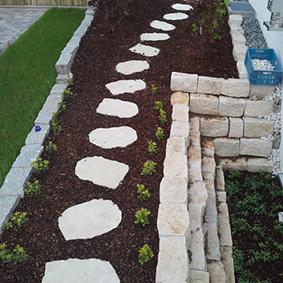 Pantina Gartenbau Mauerbau Beispiel 9
