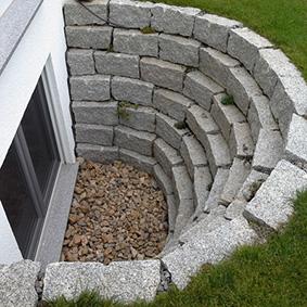 Pantina Gartenbau Mauerbau Beispiel 12