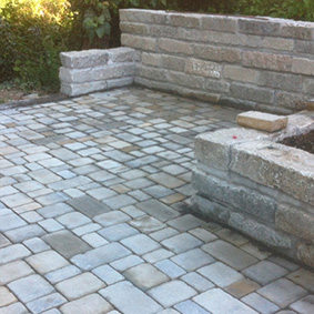Pantina Gartenbau Mauerbau Beispiel 11