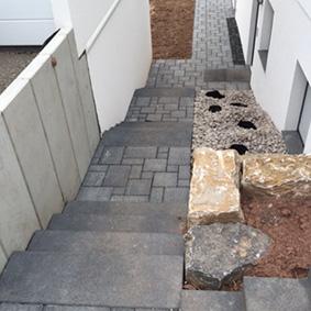 Pantina Gartenbau Stufen Beispiel 9